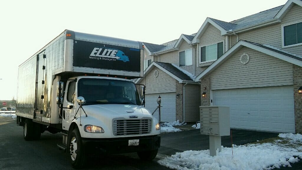 Elite Moving & Storage - Northbrook Movers - Moving truck
