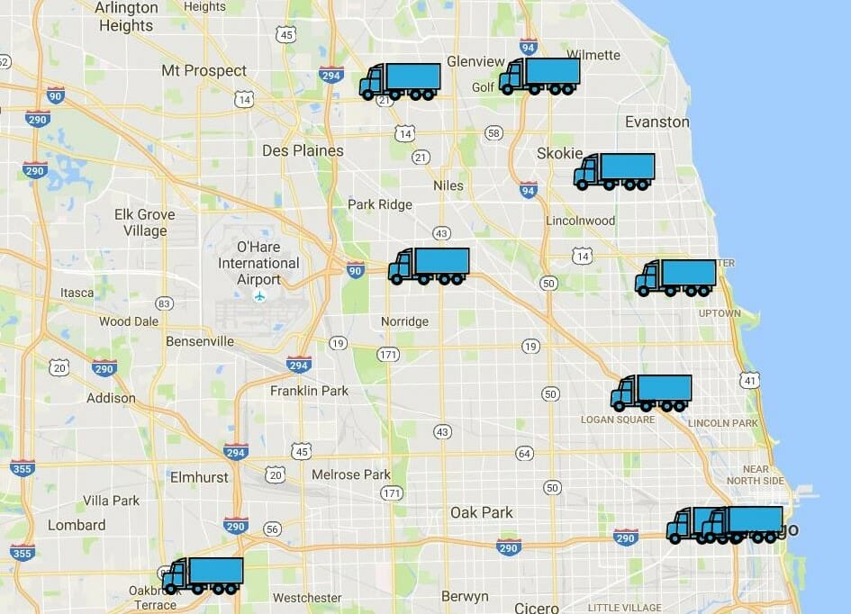 Moving GPS Tracker Chicago