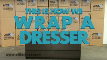 How to Wrap a Dresser for Moving