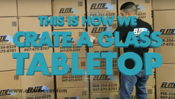 How to Safely Pack a Glass Tabletop for Moving