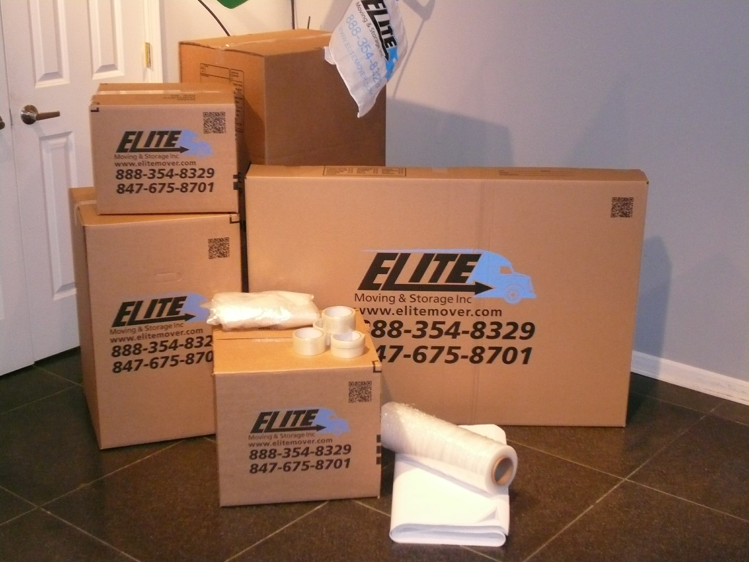 Elite's Packing Kits and Moving Supplies