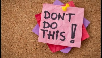 5 Things NOT to Do While Moving or Packing