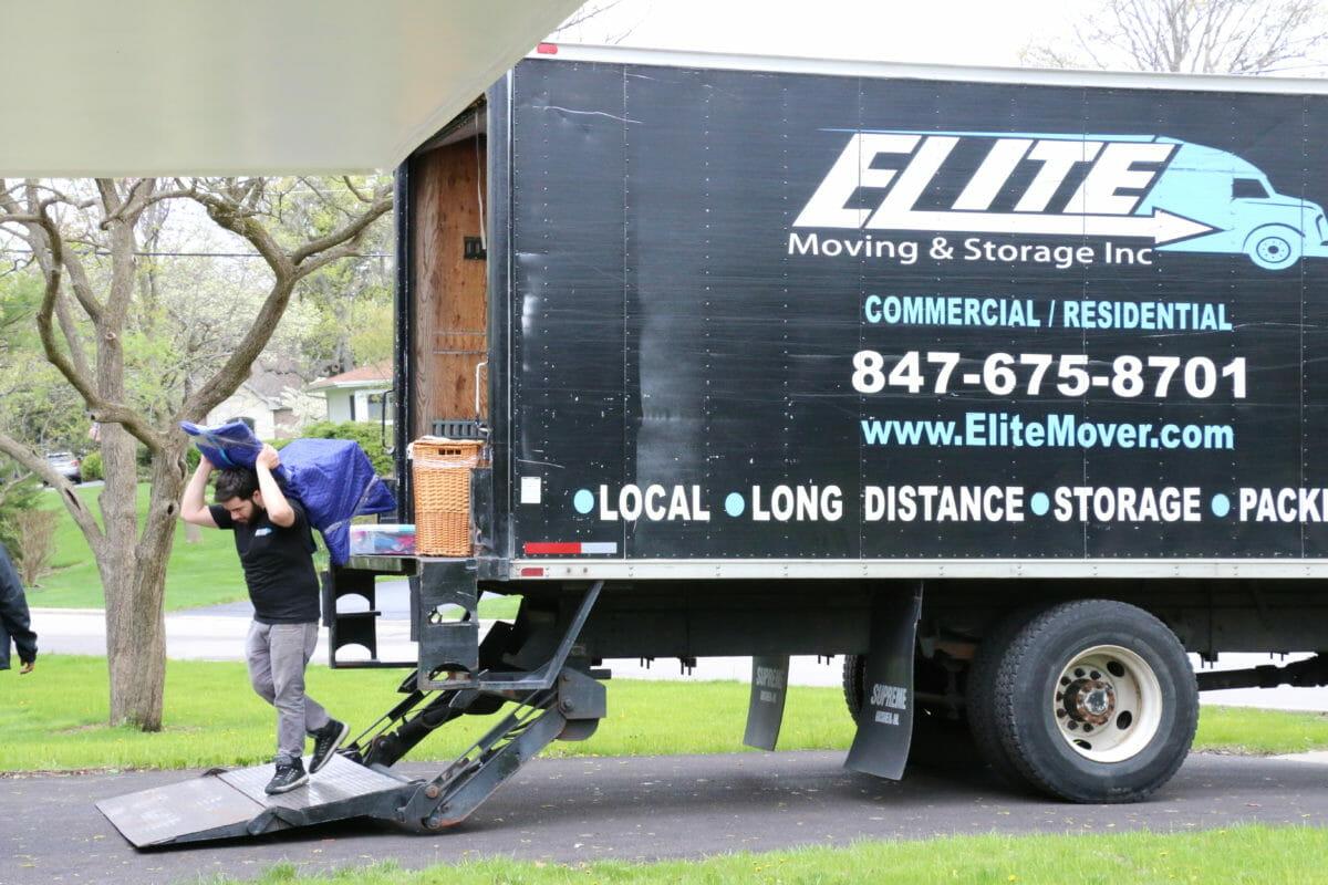 Unloading an Elite Truck
