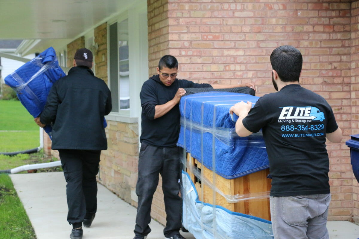 Elite Movers Hard At Work
