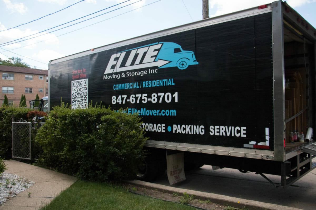 Elite Moving & Storage Truck
