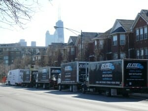Elite-moving-five-moving-trucks-Chicago