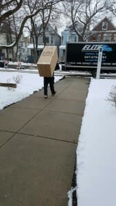 moving out in the winter