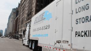 elite mover truck white