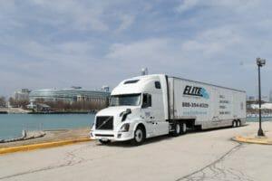 elite moving truck