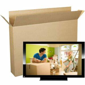 elite moving storage tv box