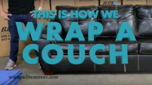 How to Move a Couch Wrap A Couch Chicago
