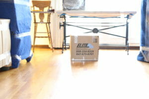 Elite box packed room hardwood floors