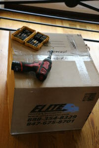 Elite Movers box and drill moving tools