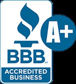 better business bureau accredited logo A+