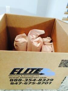 Elite box wrapped items fragile