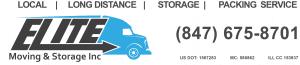 Elite Moving Storage Logo Contact Information