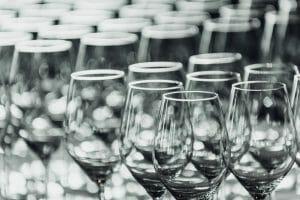Wine glasses for move